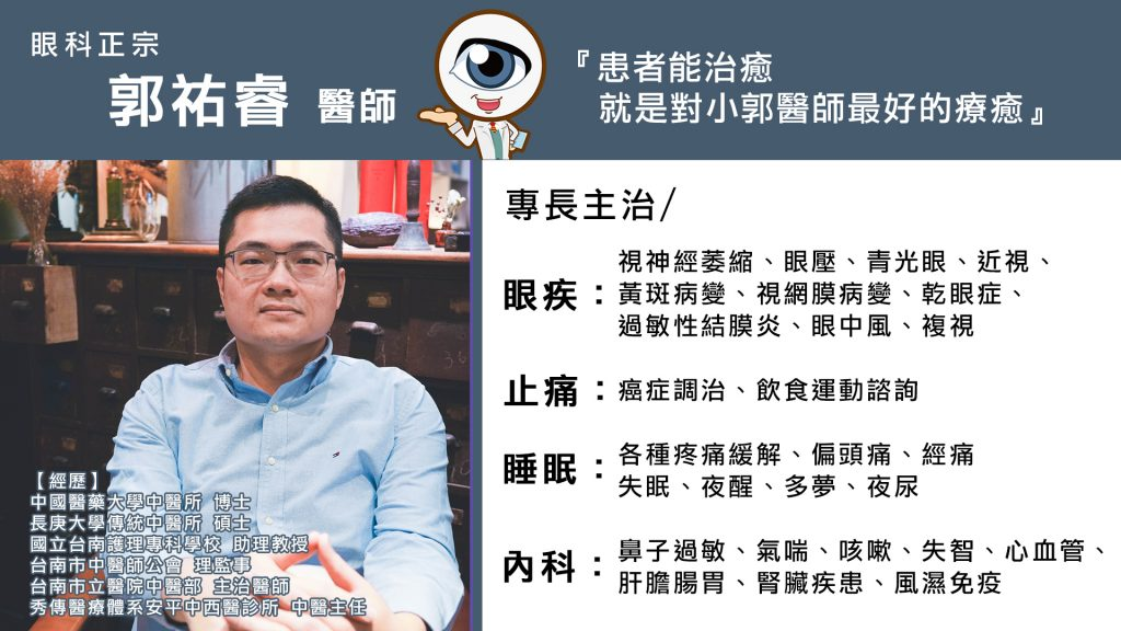 郭祐睿醫師電視牆